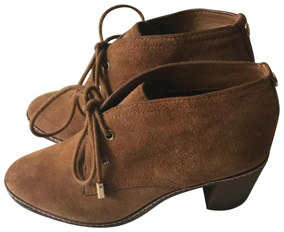 57d0069896e Tory Burch Chestnut Hilary Suede Chukka Boots Booties Size US 7 ...