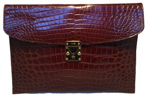Colombo brown Clutch
