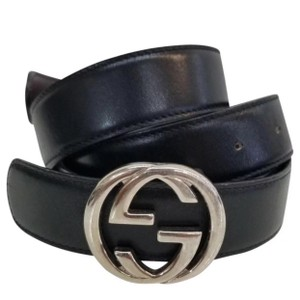 Gucci Gucci Double G leather belt size 44