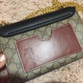Gucci Vintage Leather Monogram Monogram Cross Body Bag Image 3