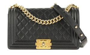 Chanel Classic Lambskin Gold Hardware Shoulder Bag