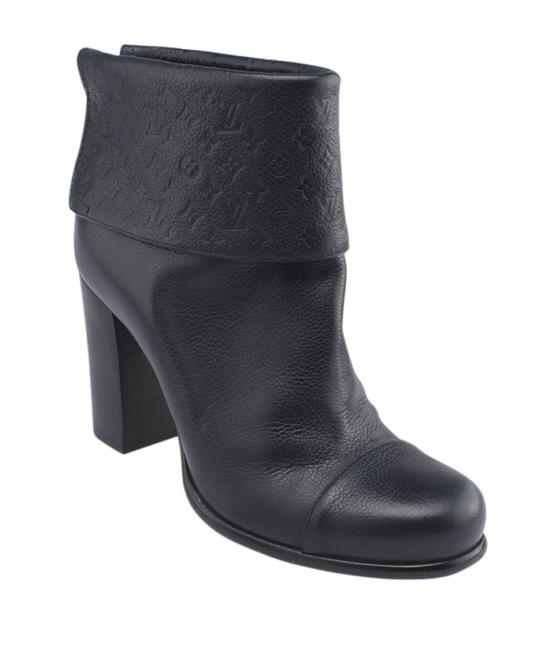 Item - Blue Leather Ankle (159665) Boots/Booties Size EU 38.5 (Approx. US 8.5) Regular (M, B)