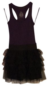 Miley Cyrus & Max Azria short dress purple on Tradesy