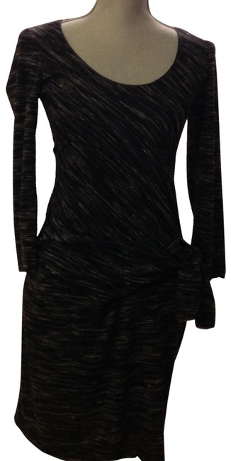 Item - Blk/Grey Short Night Out Dress Size 8 (M)