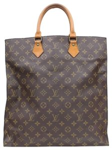 Louis Vuitton Flat Shopper Neverfull Plate Placque Tote in Brown