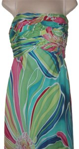 David Meister Floor Length Like New- Worn Once On Trend But Classic Dress