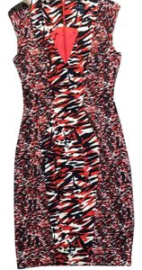 French Connection short dress red/black/white on Tradesy