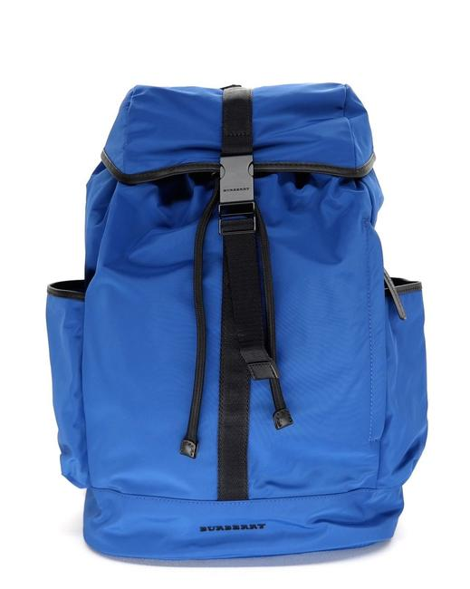 Item - Drifton Rucksack Blue Nylon Backpack