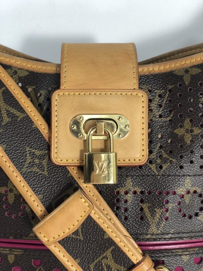 Louis Vuitton Limited Edition Perforated Monogram Perforated Musette Cross Body Bag