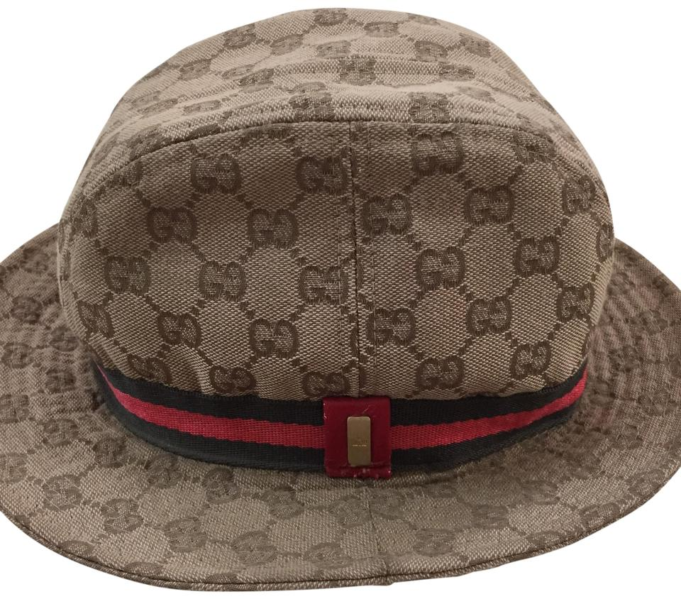 9d11e66c1ae84 Gucci Gucci GG Monogrammed Bucket Hat Image 0 ...