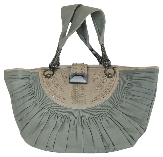 Item - Others Gray Leather Tote