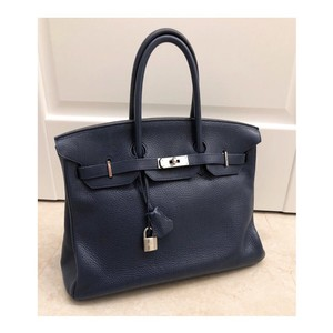 Hermès Tote in Dark Blue