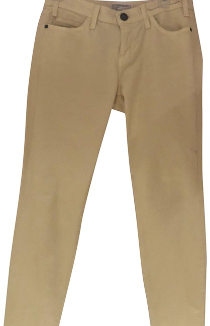 Item - Elfin Yellow Light Wash The Ankle Skinny Jeans Size 27 (4, S)
