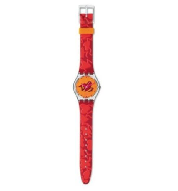 Item - Red Gk237 Pounding Heart Watch