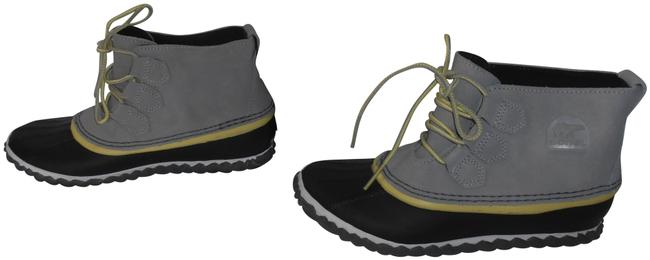 Item - Gray and Black New Womens Out N About Waterproof Boots/Booties Size US 6.5 Regular (M, B)