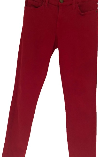 Item - Red Medium Wash Skinny Jeans Size 26 (2, XS)