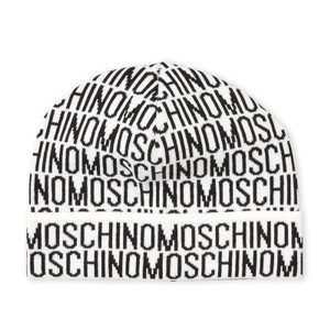 Moschino Allover Logo Knit Hat