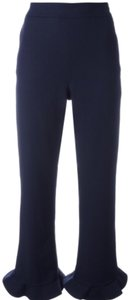 Opening Ceremony Straight Pants Navy Blue