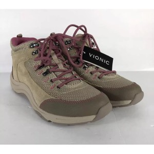 Vionic taupe and pink Athletic