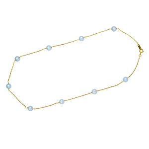Gavriel's Jewelry Pearl Necklace Choker By The Yard 14K Yellow Gold