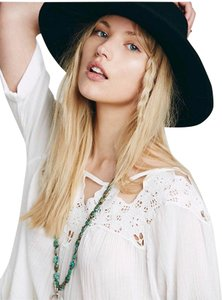 Free People short dress Ivory Embroidered on Tradesy