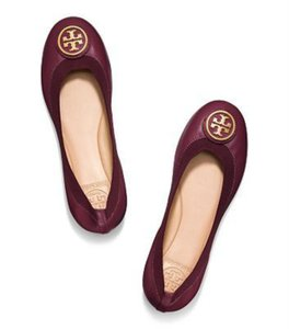 Tory Burch plum Flats