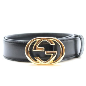 Gucci Gucci Double G belt in Gold Buckle