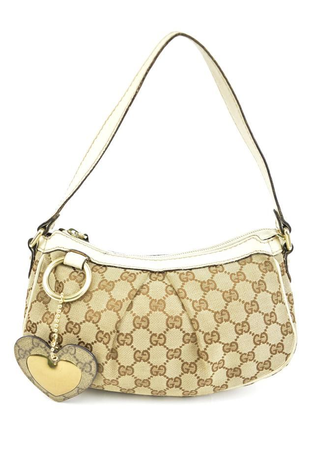 45eef4bf2 Gucci Beige Leather &