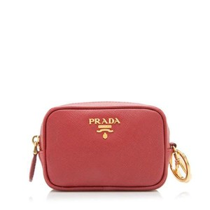 Prada Prada Red Change Coin Purse
