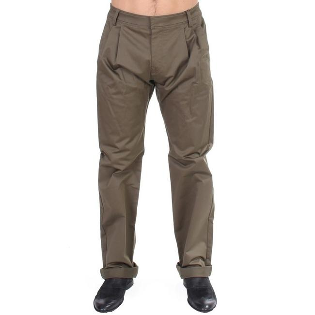 Item - Green D11054-1 Cotton Stretch Comfort Fit Jeans (It 48 / M) Groomsman Gift