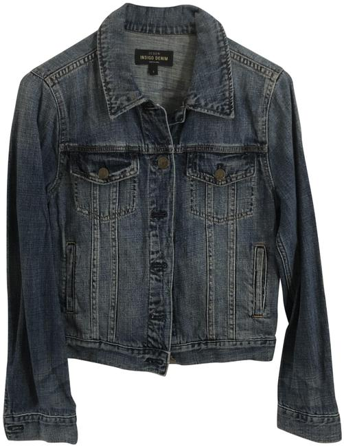 Item - Blue Nolita In Dark Antiques Indigo Jacket Size 4 (S)