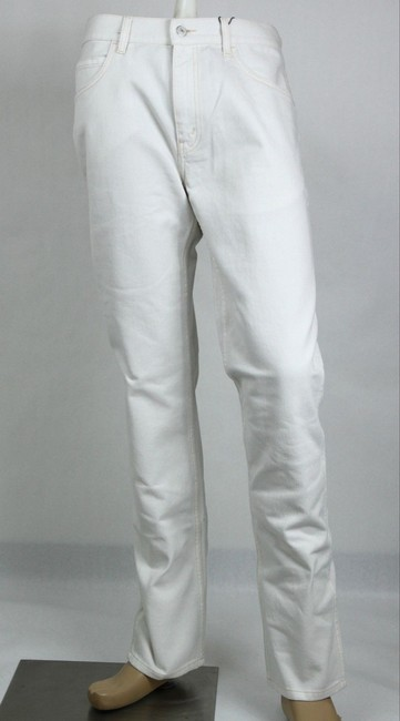 Gucci Cream White Men's Dyed Washed Cotton Pant Us 38r 408636 9305 Groomsman Gift Gucci Cream White Men's Dyed Washed Cotton Pant Us 38r 408636 9305 Groomsman Gift Image 1