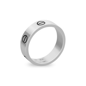Cartier Cartier 18K White Gold Love Ring Size: 9