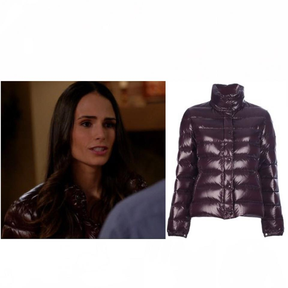 premium selection dbe62 8b5b8 Moncler Purple Clairy Jacket - Seen On Jordana Brewster Coat Size 0 (XS)  72% off retail