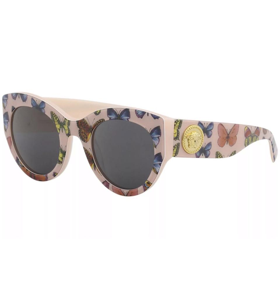 1bcd6290eaae Versace Versace Women's VE4353 VE/4353 5286/87 Butterfly/Pink Fashion  Square Sunglasses ...