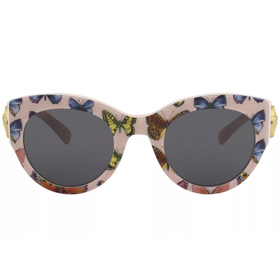 858b58241cac Versace Women's Ve4353 Ve/4353 5286/87 Butterfly/Pink Fashion Square ...