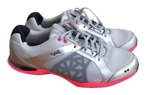 Ryka Gym Neon Workout silver, pink Athletic