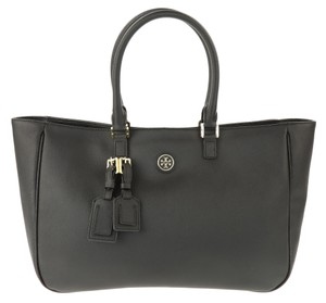 Tory Burch Roslyn Shoulder Tote in Black