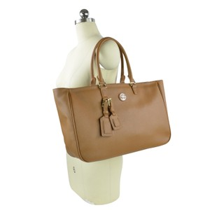 Tory Burch Roslyn Roslyn Roslyn Tote in Luggage