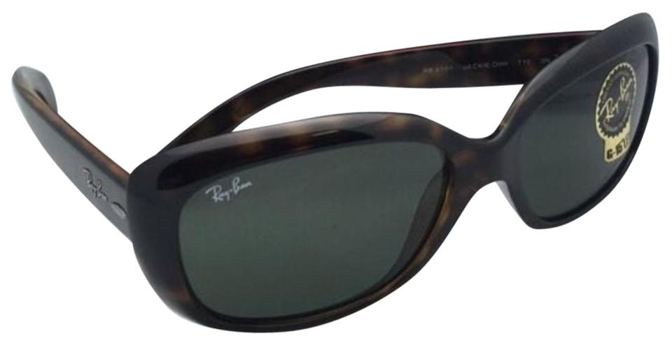 667bad4d89a81 Ray-Ban New Ray-Ban Sunglasses JACKIE OHH RB 4101 710 Tortoise Frame w ...