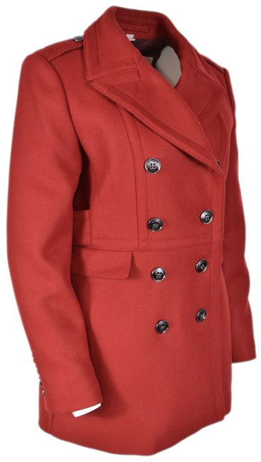 Item - Red New Women's 095 Newmont Wool Cashmere Jacket Coat Size 10 (M)