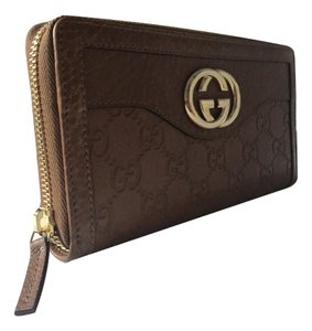 Gucci Sukey Leather Zip Around Wallet 308012 A261G 2527