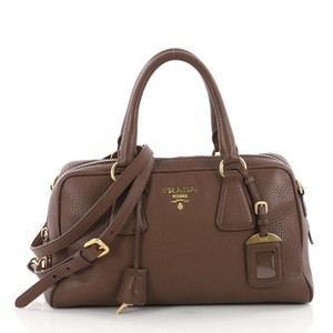 Prada Leather Brown Cross Body Bag