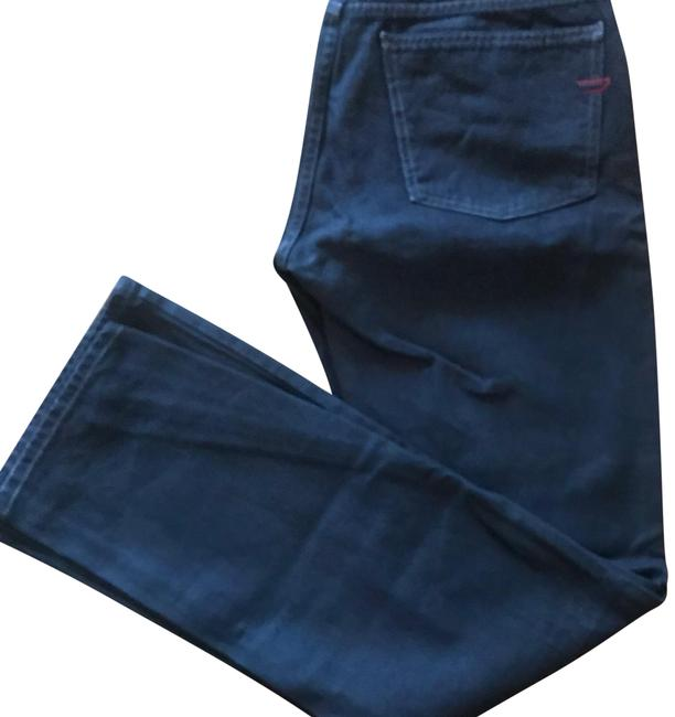 Item - Coated Black Boot Cut Jeans Size 8 (M, 29, 30)