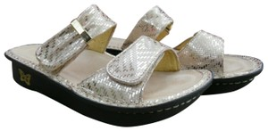 Alegria by PG Lite Gold and Tan Sandals