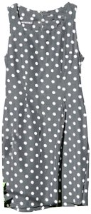 My Michelle short dress black & white Vintage Polka Dot Classic Fitted on Tradesy