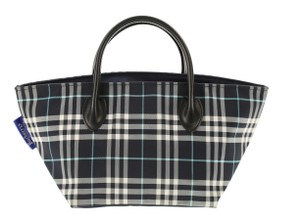 Burberry Blue Label Tote in Blue