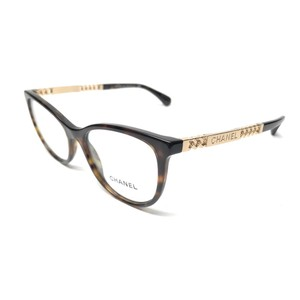 Chanel New Authentic CHANEL 3342 714 Tortoise / Gold Eyeglasses Frame ITALY