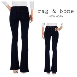 Rag & Bone Boot Cut Jeans-Dark Rinse
