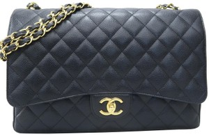 Chanel Caviar Maxi Double Shoulder Bag